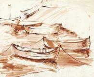 Boats 4 Royalty Free Stock Photos