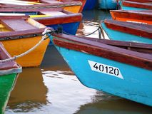 Boats. Many boats Royalty Free Stock Image