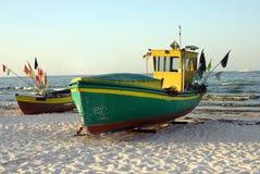 Boats. On the Baltic Sea (Sopot, Poland Royalty Free Stock Photo