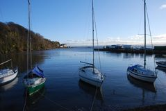 Boats at Aberdour Royalty Free Stock Photography