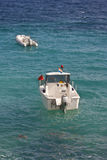Boats in Adriatic sea Royalty Free Stock Images