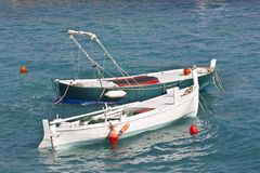 Boats in Adriatic sea Stock Photo