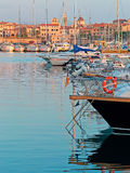 Boats in Alghero Royalty Free Stock Photo