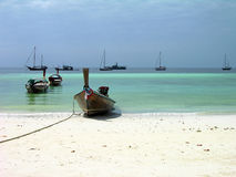 Boats in Andaman sea Stock Images