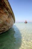 Boats in Andaman sea Stock Photography