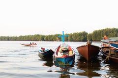Boats on Andaman sea i Royalty Free Stock Image