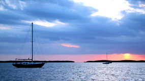 Free Boats At Anchor Royalty Free Stock Images - 1428769