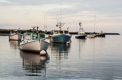 Maine's boats royalty free stock image