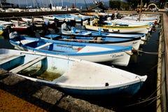 Boats, Bardolino, Italy Royalty Free Stock Photos
