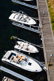 Boats bay Stock Image
