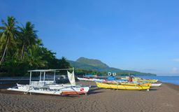 Boats on the beach Royalty Free Stock Photography