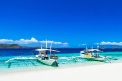 Boats on beach Royalty Free Stock Photography