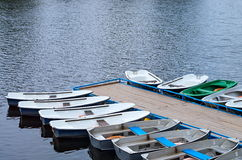 Boats. At the boat pier Royalty Free Stock Photo
