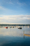 Boats in Boothbay Harbor Royalty Free Stock Photos