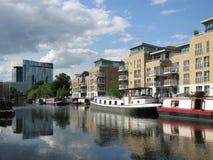 Boats in Brentford Marina, London, UK Stock Photography