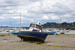 Boats at the Breton coast Stock Photography
