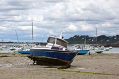 Boats at the Breton coast Stock Photography