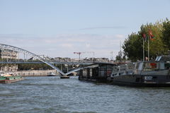 Boats and bridges Royalty Free Stock Photos