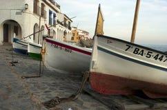 Boats. Calella de Palafrugell. Spain. Stock Image