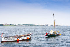 Boats on Calm Waters Stock Photos