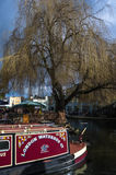Camden lock. Boats at camden lock in london Royalty Free Stock Photography