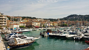 Boats in Cassis Stock Image