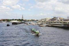Boats Chao Phraya Stock Photos