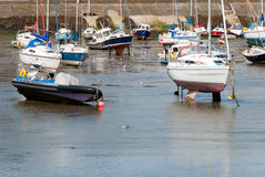 Boats in Cornwall Stock Photo