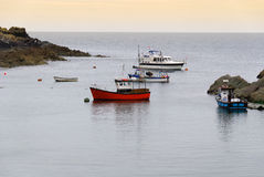 Boats in Cornwall Royalty Free Stock Images