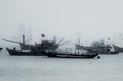 Fishing Boats, Vietnam Royalty Free Stock Image