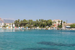 Boats in Datca Town Stock Photography