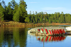 Boats at dock Royalty Free Stock Photo