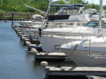 Boats in dock. Boats docked Stock Photo