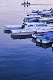 Boats at Dock Royalty Free Stock Photography