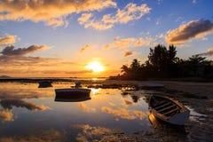 Boats docked Stock Photo
