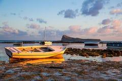 Boats docked Stock Photography