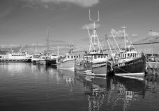 Kirkwall Harbour. Boats docked in Kirkwall Harbour, Orkney, Scotland Stock Photography