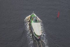 Boats in the escort fleet to ms sjøkurs Stock Photography
