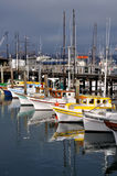 Boats at Fisherman's Wharf Stock Image