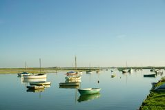 Boats galore! Royalty Free Stock Images