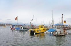 Boats on Geneva lake. Switzerland Royalty Free Stock Photography