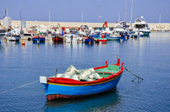 Boats in Giovinazzo, Italy Royalty Free Stock Image