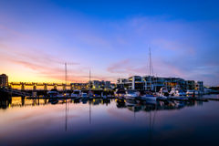 Boats at Glenelg, City of Holdfast Bay, South Australia. Stock Image