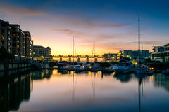 Boats at Glenelg, City of Holdfast Bay, South Australia. Royalty Free Stock Photography