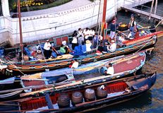 Boats on the Grand Canal, Venice. Stock Images