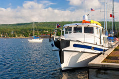 Boats, grand marais Royalty Free Stock Photography