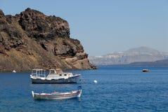 Boats at the Greek island Royalty Free Stock Photo