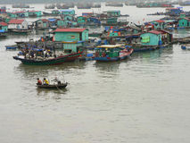 Boats in Halong bay, Vietnam. Stock Image