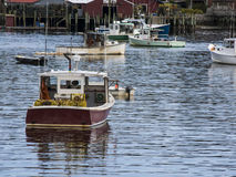 Boats in Harbor Stock Images