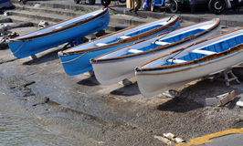 Boats in Harbor Stock Photo